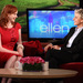 christina hendricks with ellen