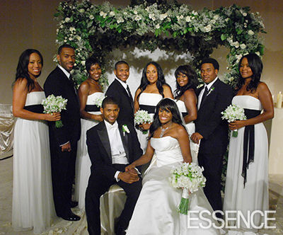 Wedding Party Pictures on Usher Tameka Wedding Party 1 Src