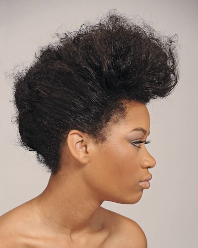 Quick natural hairstyles!