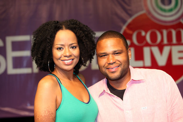 Tempestt Bledsoe (Vanessa from Cosby show) at ESSENCE