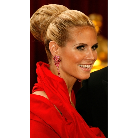 heidi klum hair 2009. Big Hair in Hollywood