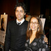 Adrian Grenier and Mom Karesse