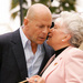 Bruce Willis and Mom Marlene