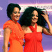 Mom Diana Ross (60's) and daughter Tracee Ellis Ross (35)