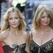 Mom Goldie Hawn (60's) and daughter Kate Hudson (almost 29)