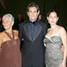 Joaquin Phoenix with Mom Arlyin (L) and Sister Summer (R)