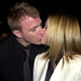 The couple shares a kiss at the Snatch premiere in January 2001. Return To Post