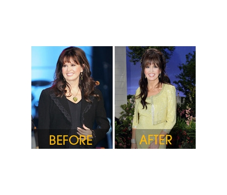 The Dancing with the Stars contestant danced back into her skinny jeans and America's hearts. Marie Osmond lost 45 pounds. How she did it: Dancing with the Stars and NutriSystem