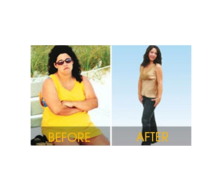 Misty Harris lost 95 pounds. Return to Moms Lose 539 Pounds!
