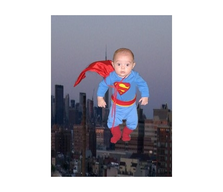 Superman watch out! Here comes Super Ben!