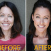 Before: The biggest mistake women make is overplucking, which will age you. After: Fill in the brows for a younger look. Click to see brows up close