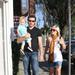 Tori, husband Dean McDermott and their son Liam.