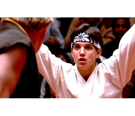 "If you had a crush on Ralph Macchio circa ""The Karate Kid"" (1984) then..."
