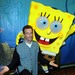 "The voice of Sponge Bob from ""Sponge Bob Squarepants""."