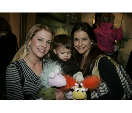 Melissa Joan Hart and Kellie Martin