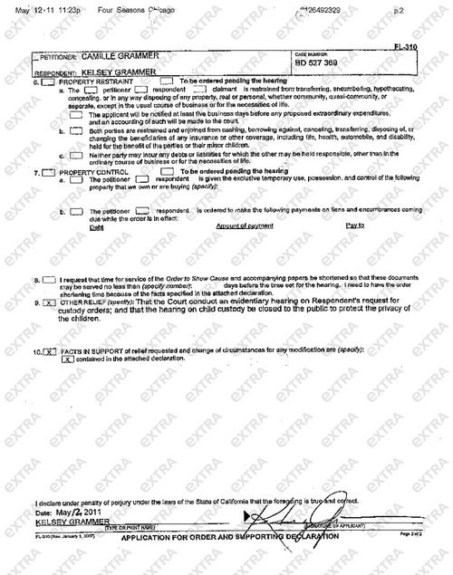 custody papers Use this sample, free joint custody agreement to help hammer out the most important details of a divorce.